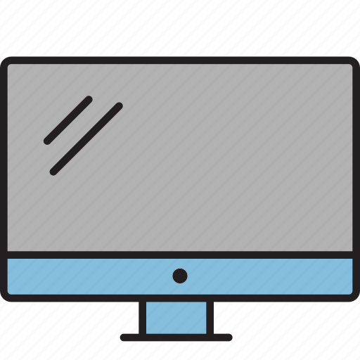 computer, desktop, display, laundry, mac, monitor, television icon