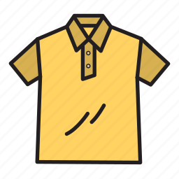 apparel, cloth, garment, shirt icon