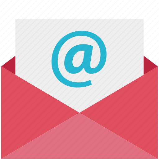 at, email, mail, online, sign icon