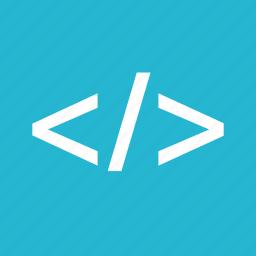 code, coding, development, online, web icon