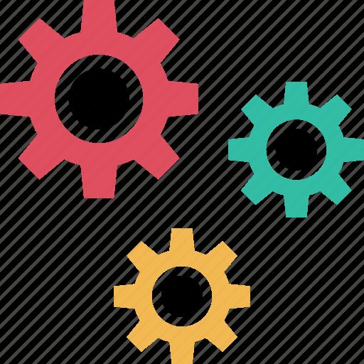 gear, options, setup, web icon