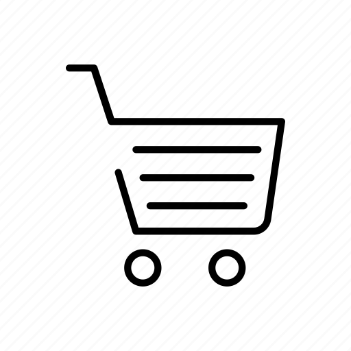 basket, cart, groceries, store icon