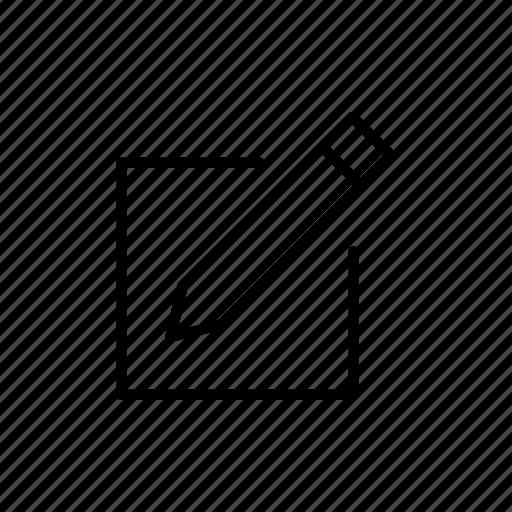 draw, edit, pencil, writing icon