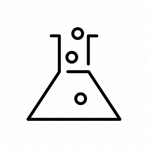 chemical, experiment, flask, lab, research icon