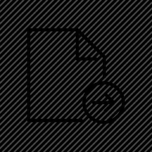 doc, document, file, move, next icon