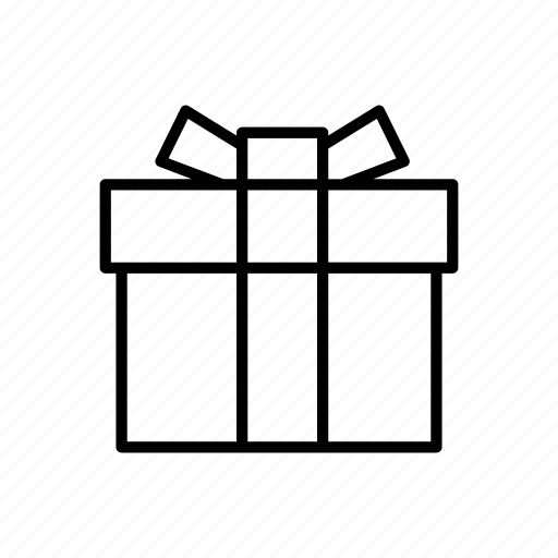 bow, box, gift, present, reward, ribbon icon