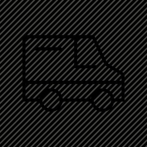 automobile, car, transport, transportation, van, vehicle icon