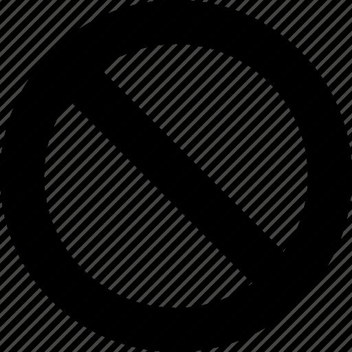 abort, cancel, raw, simple icon
