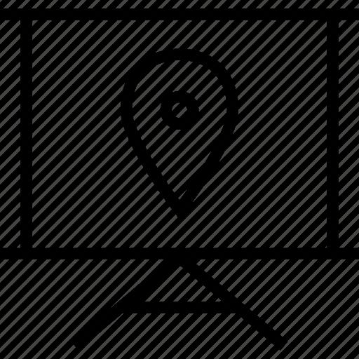 board, gps, learn, learning icon