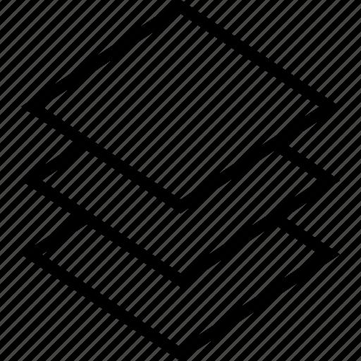 create, layer, layers, server icon