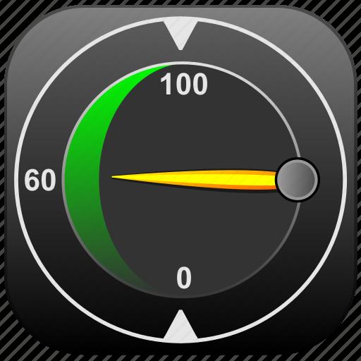 app, future, rapid, speed, speedometer icon