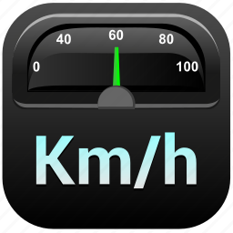 app, auto, car, rapid, speed, speedometer icon