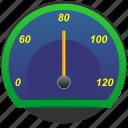 auto, car, rapid, speedometer icon