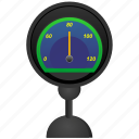 car, rapid, speed, speedometer, stand icon