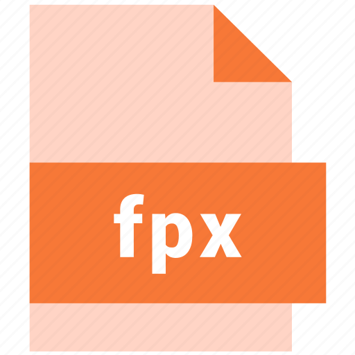 extension, file, format, fpx, hovytech, raster, raster image file format icon