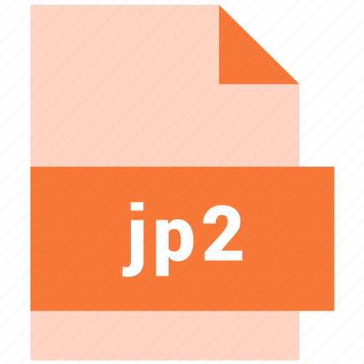 document, file, format, jp2, raster image file format, type icon