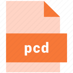 extension, file, format, hovytech, pcd, raster, raster image file format icon
