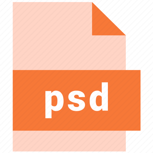 extension, file, file format, psd, raster image file format icon