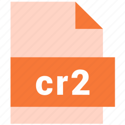 cr2, raster image file format icon