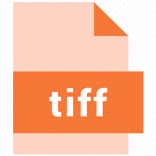 document, file, filetype, raster image file format, tiff icon