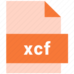 document, file, format, raster image file format, type, xcf icon