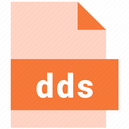 dds, directdraw surface, raster image file format icon