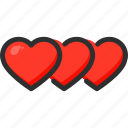 feedback, heart, like, love, rate, rating icon