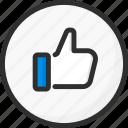 feedback, like, rate, rating, thumb, thumbs, up