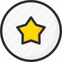 best, favourite, feedback, like, rate, rating, star icon