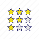 comment, feedback, ranking, rate, rating, satisfaction, star icon