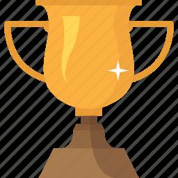 achievement, award, champion, cup, prize, success, trophy icon