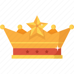 award, bonanza, crown, gold, king, treasure, wealth icon