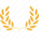 achievement, award, gold, prize, rank, trophy, winner icon