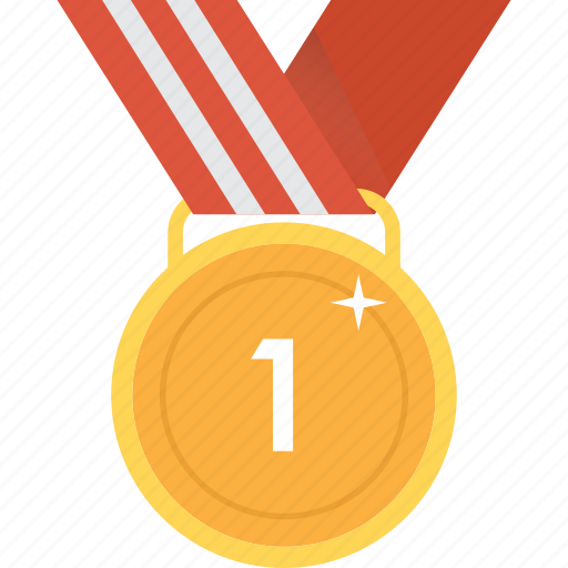 award, first, gold, medal, prize, reward, trophy icon