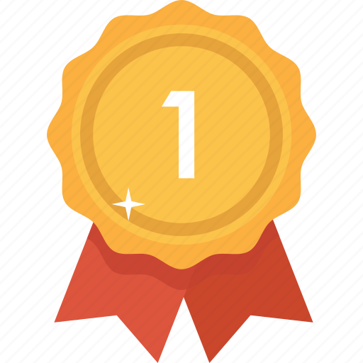 accolade, award, best, gold, prize, reward, upgrade icon