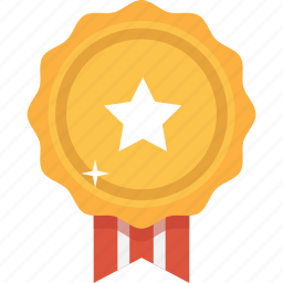 accolade, award, gold, medal, prize, reward, upgrade icon