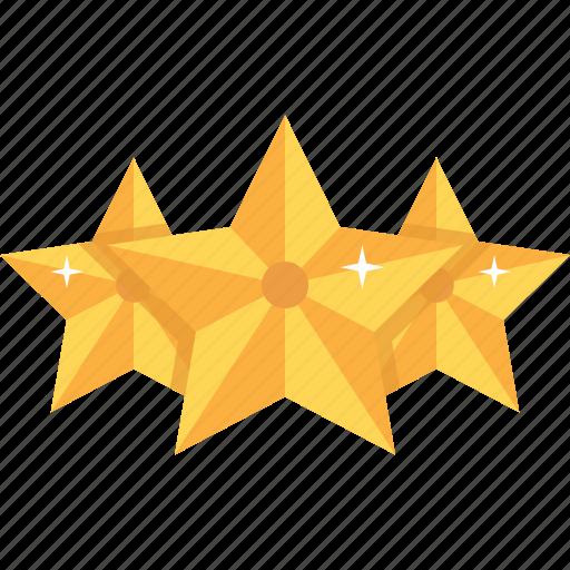 award, gold, medal, rating, reward, star, stars icon