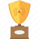 accolade, award, gold, medal, reward, trophy, upgrade icon