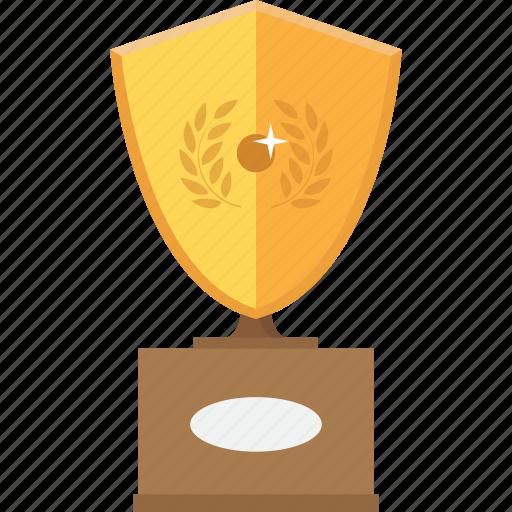 accolade, award, gold, medal, reward, trophy, upgrade icon
