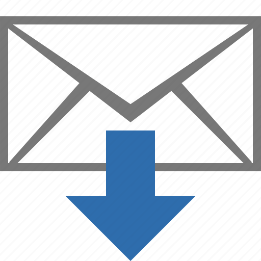 download, email, fetch, inbox, letter, mail, message icon
