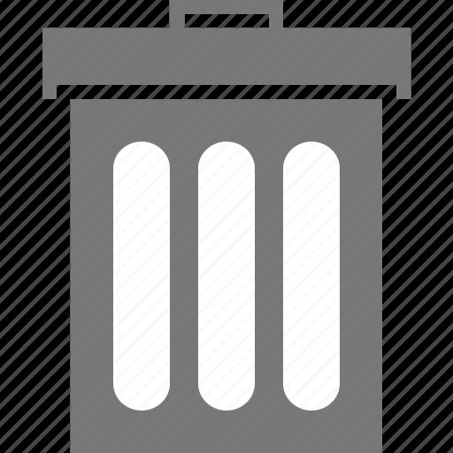 bin, delete, mail, recycle, remove, trash, trashbin icon