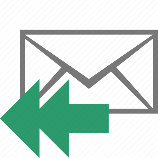 Letter, mail, message, reply icon - Download on Iconfinder