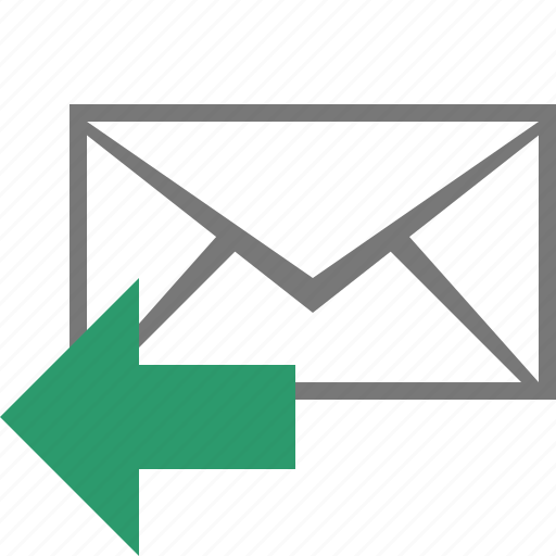 email, envelope, letter, mail, message, reply, send icon