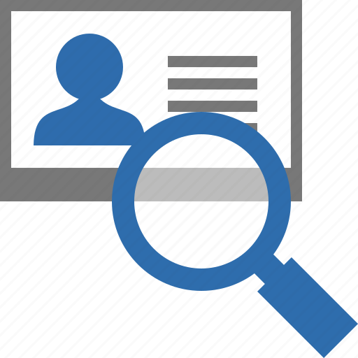 contact, contacts, find, mail, profile, search, view icon