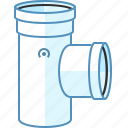 abs, cpvc, drain, pipe, pvc, sewer, tube icon