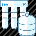 filter, osmosis, water
