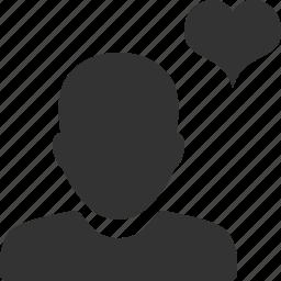 account, avatar, friend, like, person, profile, user icon