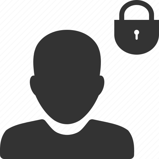 account, avatar, password, person, profile, security, user icon