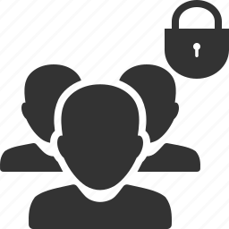 group, password, people, security, staff, team, users icon
