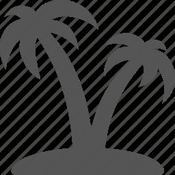 beach, holiday, island, palma, rest, vacation icon